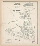 Keene - Ward 2, New Hampshire State Atlas 1892 Uncolored
